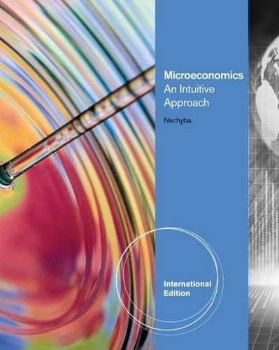 9780538750806: Microeconomics: An Intuitive Approach, International Edition (with LiveGraphs Printed Access Card)