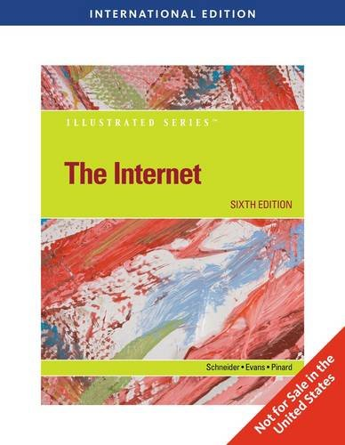 9780538751018: The Internet - Illustrated