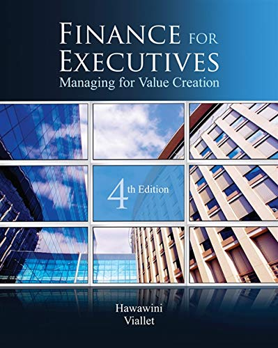 9780538751346: Finance for Executives: Managing for Value Creation
