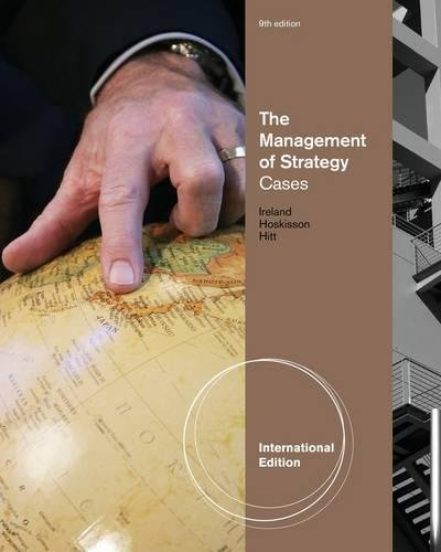 9780538753203: The Management of Strategy: Cases, International Edition