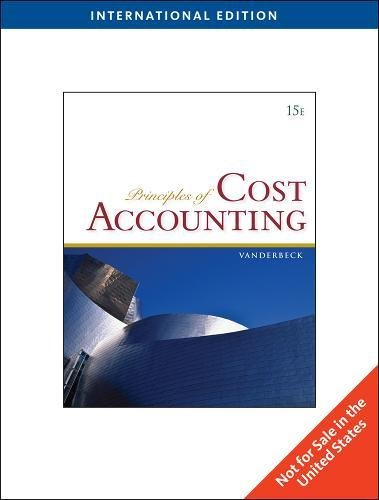 9780538753531: Principles of Cost Accounting