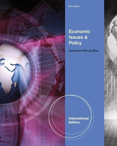 9780538753838: Economic Issues and Policy, International Edition (with InfoApps 2-Semester Printed Access Card)