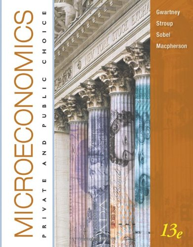 9780538754330: Microeconomics: Private and Public Choice