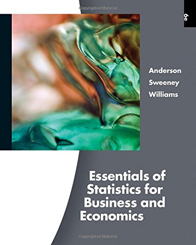 9780538754576: Essentials of Statistics for Business and Economics (with Online Content Printed Access Card) (Available Titles Aplia)