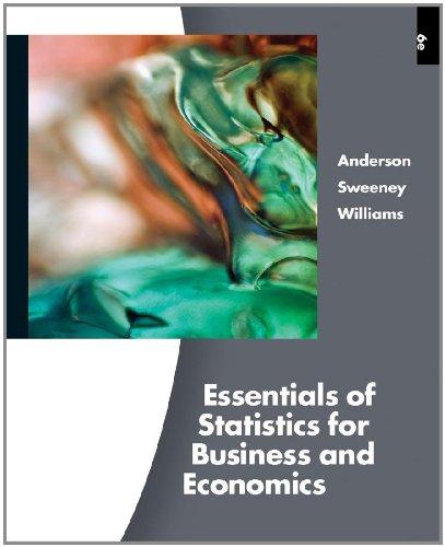 9780538754583: Essentials of Statistics for Business and Economics