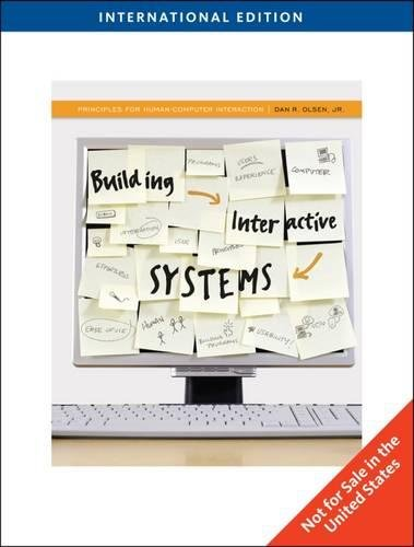 9780538754606: Building Interactive Systems: Principles for Human-Computer Interaction