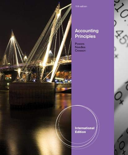 9780538756594: Accounting Principles, International Edition