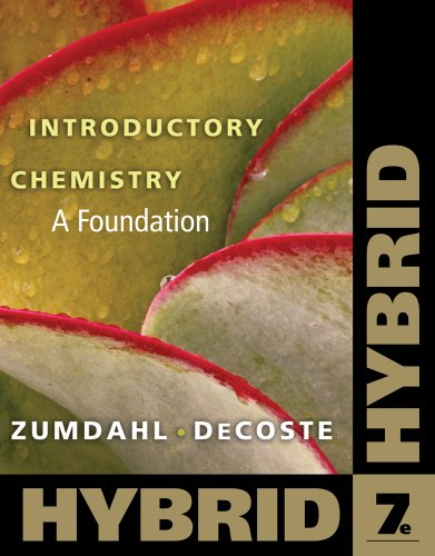 9780538757089: Introductory Chemistry: A Foundation, Hybrid (with eBook in OWL Printed Access Card) (Cengage Learning's New Hybrid Editions!)