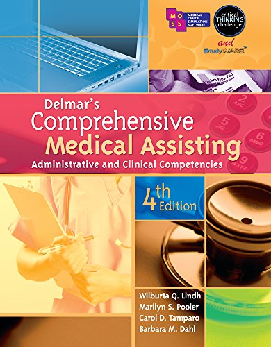 Bundle: Delmar Learning's Skills and Procedures for Medical Assistants DVDs, with Closed Captioning + Delmar's Comprehensive Medical Assisting: Administrative and Clinical Competencies, 4th + Workbook (053878654X) by Cengage Learning Delmar
