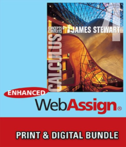 Bundle: Calculus: Concepts and Contexts, 4th + Enhanced WebAssign Homework and eBook Printed Access...