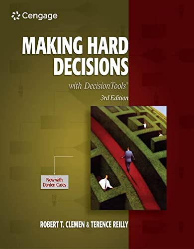 9780538797573: Making Hard Decisions with Decision Tools Suite