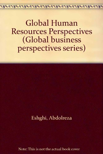 9780538800457: Global Human Resources Perspectives (Global business perspectives series)