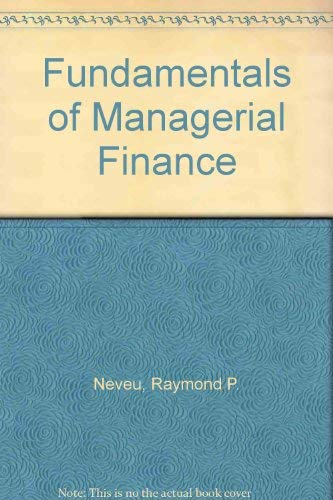 9780538800631: Fundamentals of Managerial Finance