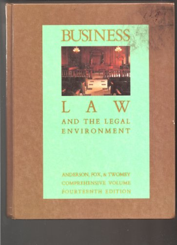9780538802222: Business Law