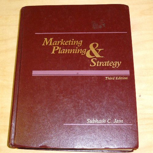 9780538802512: Marketing Planning and Strategy