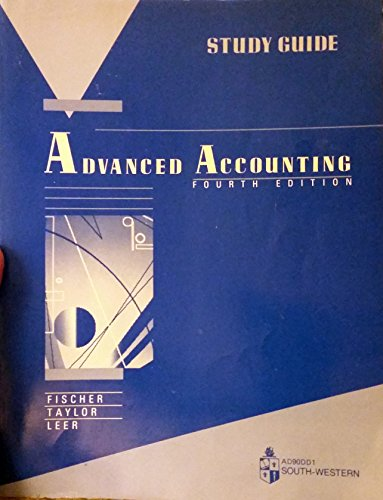 9780538803168: Advanced Accounting: Students' Guide to 4r.e