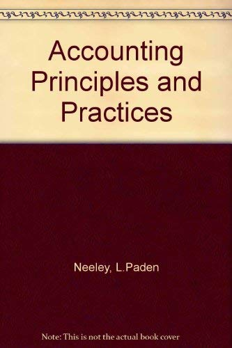 9780538808002: Accounting Principles and Practices