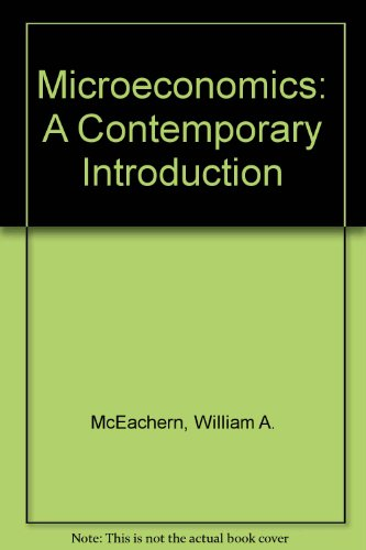 9780538808347: Microeconomics: A Contemporary Introduction