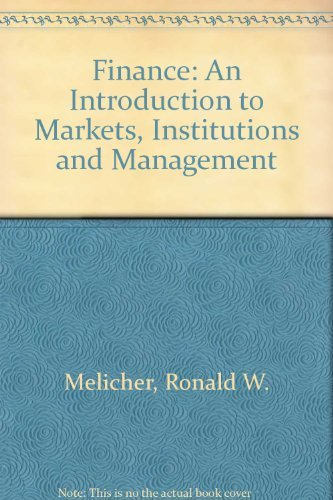 9780538812146: Finance: An Introduction to Markets, Institutions and Management