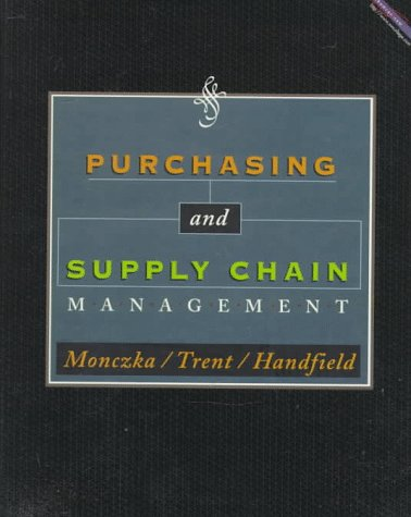 9780538814959: Purchasing and Supply Chain Management