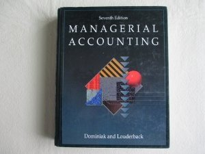 9780538825344: Managerial Accounting