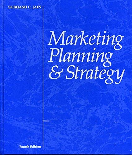 9780538826488: Marketing Planning & Strategy