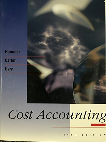 9780538828079: Cost Accounting: Planning and Control