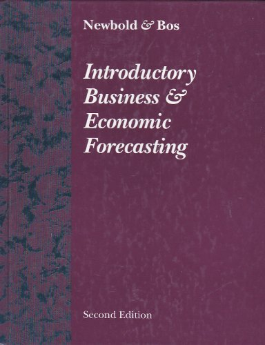 9780538828741: Introductory Business & Economic Forecasting