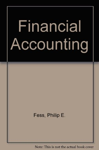 Financial Accounting: Warren, Carl S.