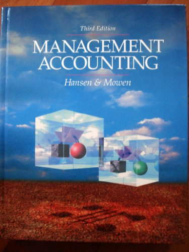 9780538829588: Management Accounting
