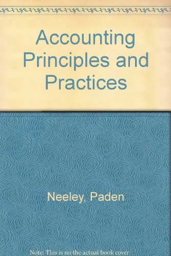 9780538831949: Accounting Principles and Practices: Chapters 1-14