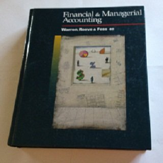 9780538833363: Financial and Managerial Accounting
