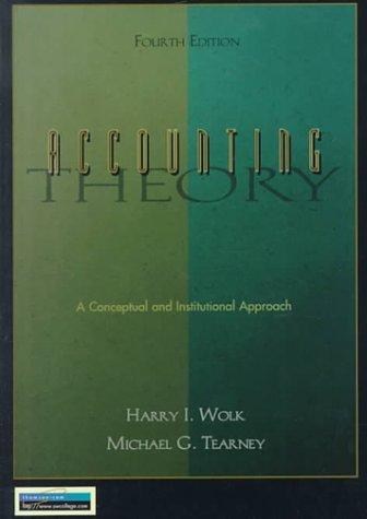 9780538836449: Accounting Theory