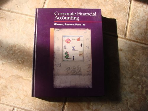 9780538837194: Corporate Financial Accounting