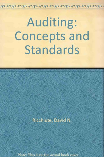 9780538838832: Auditing (AB-Accounting Principles)