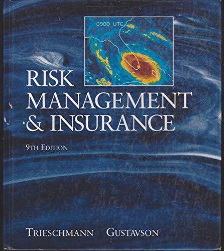 9780538839204: Risk Management and Insurance (South-Western Series in Finance)