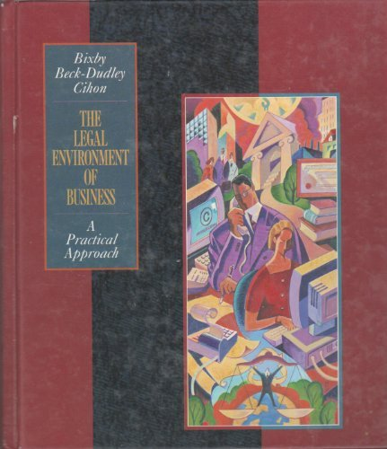 9780538844840: Legal Environment of Business: A Practical Approach