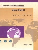 9780538844857: International Dimensions of Management