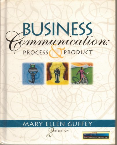 9780538845144: Business Communication: Process and Product