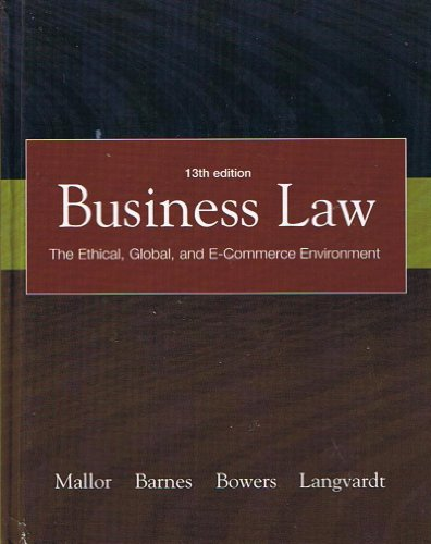 9780538845458: Law for Business