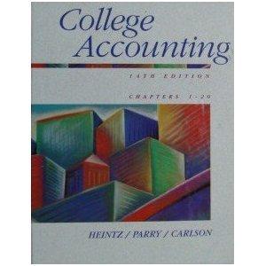 9780538846028: College Accounting Chorus 1-20, 3rd Printing (AB-Accounting Principles)