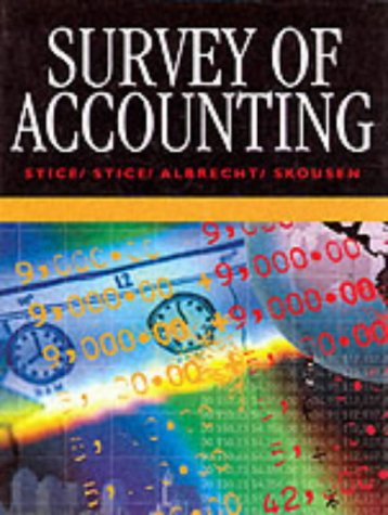 9780538846172: Survey of Accounting