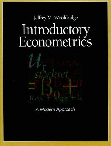 """wooldridge introductory econometrics a modern approach However, if their text is """"introductory econometrics: a modern approach, 6e"""" by jeffrey m wooldridge, they are in luck the wooldridge data package aims to lighten the task by easily loading any data set from the text."""