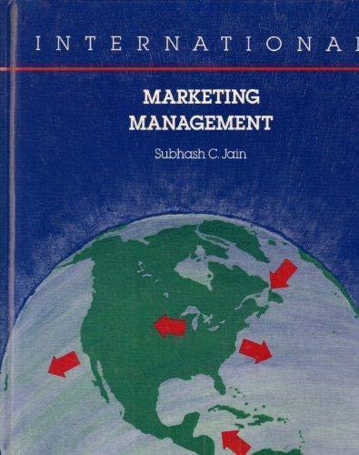 9780538852814: International Marketing Management