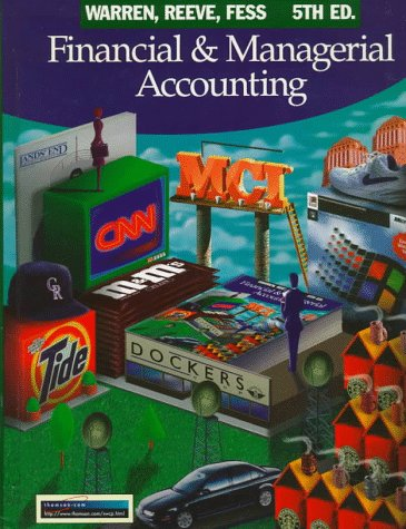 9780538853095: Financial and Managerial Accounting (Financial & Managerial Accounting)