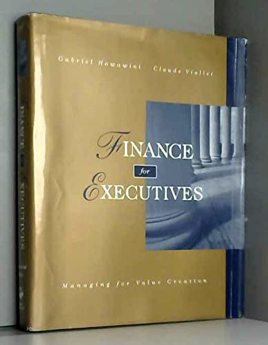 9780538853958: Finance for Executives
