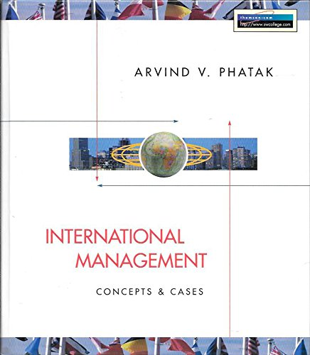 9780538854153: International Management: Concepts & Cases