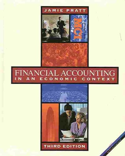 9780538855846: Financial Accounting: In an Economic Context