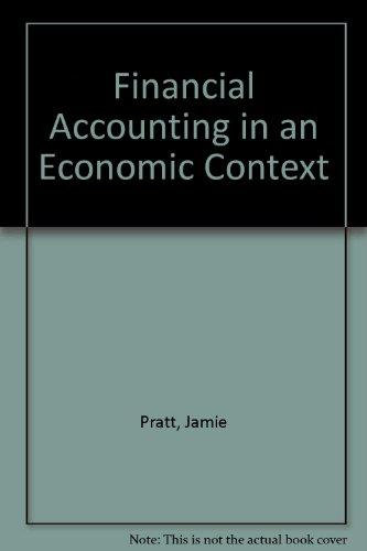 9780538855853: Financial Accounting in an Economic Context Study Guide 3rd edition