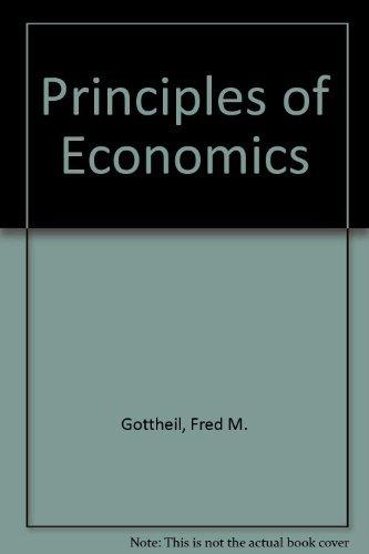 9780538856201: Principles of Economics
